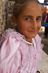 Little Princess (Izla Kaya Bardavid) Tags: wedding party portrait people color girl smile smiling kids rural turkey children happy village child photos joy happiness reception mesopotamia turabdin assyrian syriac southeastturkey traditionalchristian