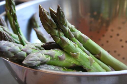 Fresh asparagus!