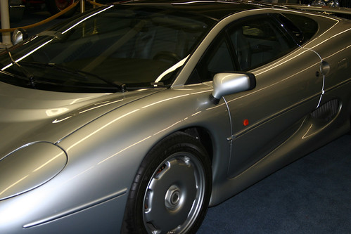 Jaguar XJ220,car, sport car