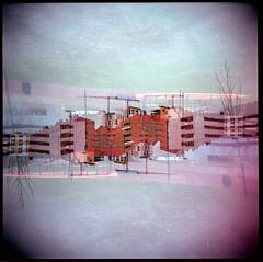 YIN YANG (Josean Pablos (1)) Tags: architecture holga surreal yinyang vitoria gasteiz vitoriagasteiz dobleexposicin doubleexpos zabalgana