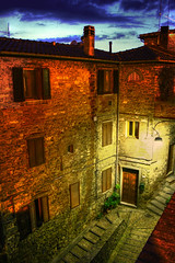 Steps Labyrinth (Fabio Ricco) Tags: door windows scale night buildings lights shadows steps passages ombre porta shutters sos labyrin
