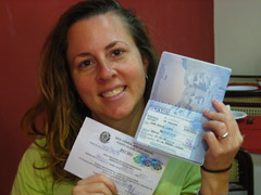 A Brazilian visa--finally!