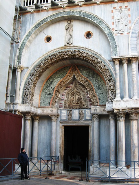 San Marco, side door