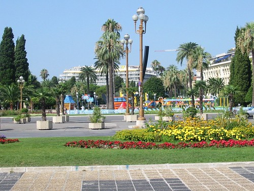 The park in Nice