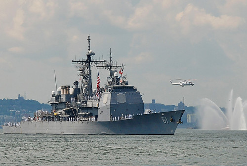 USS Monterey, NYC Fleet Week