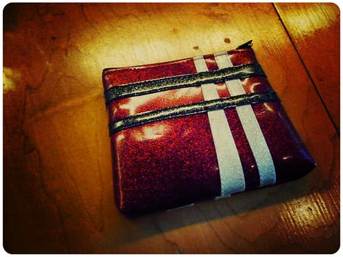 Miss Alison vinyl pouch