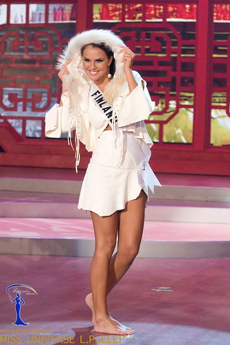 Traje Típico de Miss Finlandia