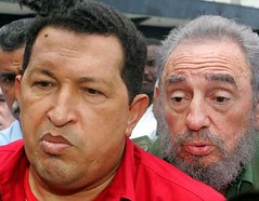 Hugo Chavez spreads his influence in Peru