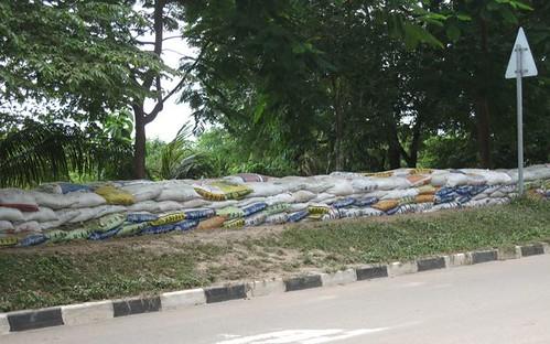 running sandbags