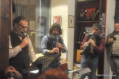 N2122879 (pierino sacchi) Tags: kammerspiel brunocerutti feliceclemente igorpoletti improvvisata jazz letture libreriacardano musica sassofono sax stranoduo