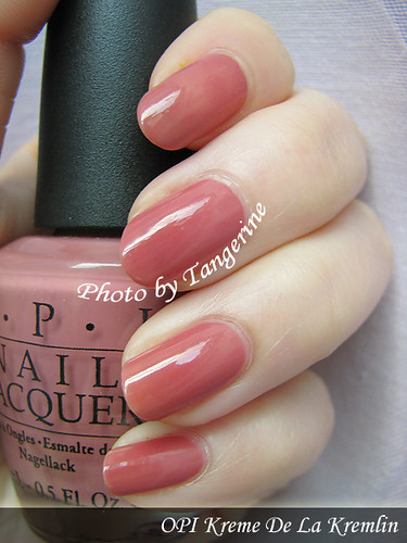 OPI-Kreme De la Kremlin by you.