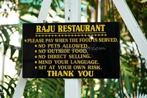 Raju's Rules