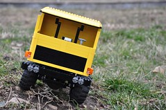 Trial Truck: DAC 16.550-7 (Sergiu94) Tags: auto road truck automobile power lego offroad 4x4 roman engine 4wd off technic dac portal functions rc trial motorized v10 axle axles 16550 offroadvehicles trialtruck sergiu94