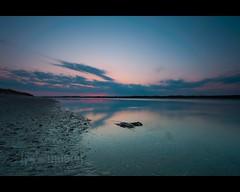 just one more moment ([nosamk] KMason photography) Tags: ocean sunset seascape reflection beach water clouds landscape nc tripod northcarolina atlantic filter lee southport gitzo waterway intercoastal oakisland caswellbeach singhray gt2531 nikonafsnikkor1635mmf4gedvr