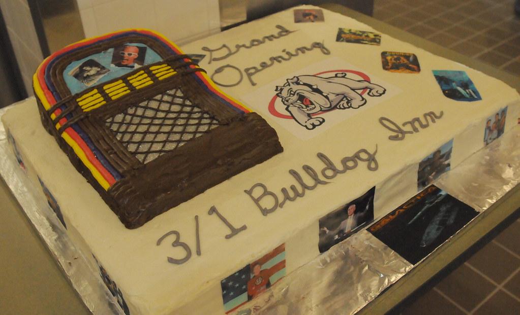 B6  DFAC Opening Grand Opening Cake