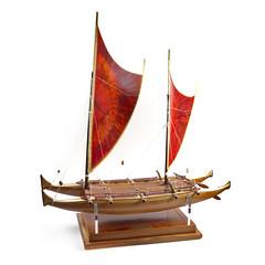 TAMA MOANA (hawaiiancanoes) Tags: catamaran sail honolulu hokulea vaka tikopia shipmodels anuta jameswharram multihulls martinmacarthur hawaiiancanoes pirogueabalancier hawaiianoutriggers auslegerboat tamamoana pacificvoyagers