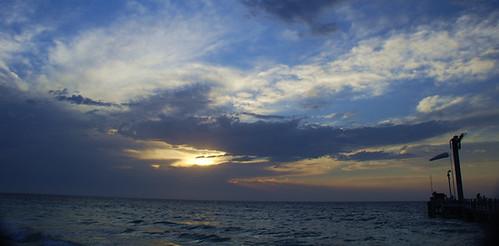mais um Pôr do sol, na Austrália. Clique para ampliar