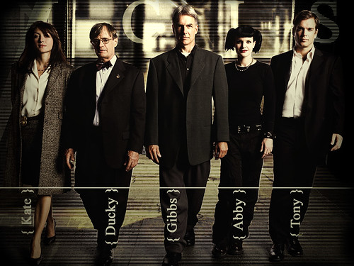 NCIS the cast ... series 2