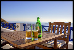 Dreaming summer (otrocalpe) Tags: summer beer dreaming hdr mythos otrocalpe
