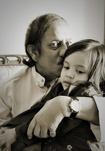 Nidhi and Papa