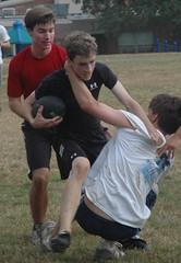 DSC_0111_2 (aplunk!) Tags: football guys actionshot pickupgame guysplayingfootball trumpetlowbrassfootball