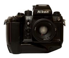 Nikon MF-23 data back for the Nikon F4