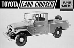 Toyota LandCruiser Pickup Truck