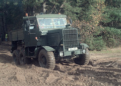 Out of the woods (macspite) Tags: uk england 6x6 army kodak military united kingdom hampshire trial recovery exmilitary heavies scammell reme 760 nikonf5 hants bordon dcs760 kodakdcs760 awdc macspite exarmy slabcommon allwheeldriveclub remetrainingground heavytrial scammellexplorer