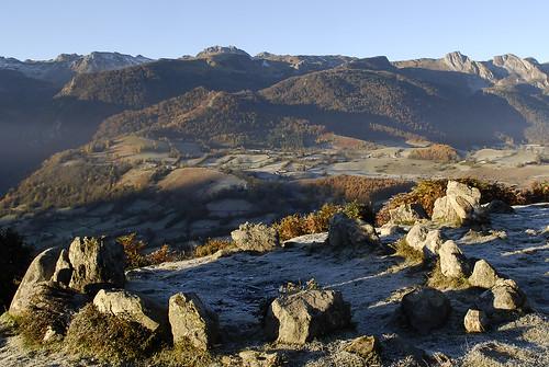 Le Plateau du Benou vue des Cromlechs de Lou Courau