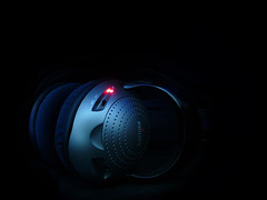 Music On (-Passenger-) Tags: lighting music long exposure headphones wireless passenger exposicin iluminacin audfonos prolongada