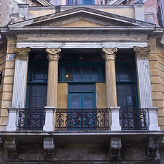 Needs some restoration (macropoulos) Tags: old urban building architecture facade geotagged decay urbandecay greece crete canonef35mmf2 heraklion iraklion canoneos400d ysplix guessedheraklion geo:lat=3534142 geo:lon=25134525