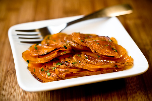 Candied Lime Sweet Potatoes