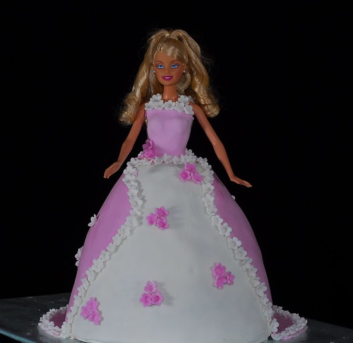 Erika's Barbie Doll Cake