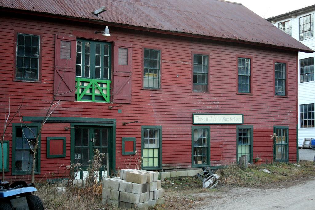 Mason Mill and Box Factory
