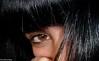 New hair (Kris *) Tags: blue portrait black eye me azul hair ojo retrato yo negro pelo deliziosa