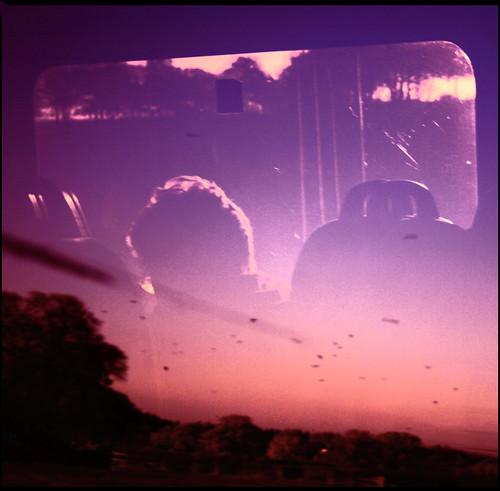 Train Window, Going Back
