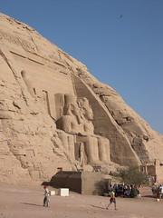 Great Temple of Ramses II (upyernoz) Tags: ruins egypt  abusimbel   greattempleoframsesii