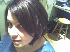 haircut (petit hiboux) Tags: selfportrait hair vanity lilhibouxphone