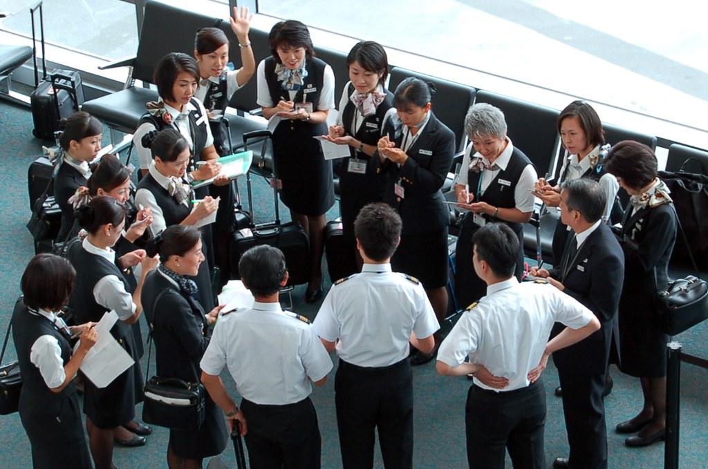 Japan Airlines Flight Attendant