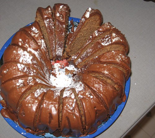 christmas 2007 -- chocolate bundt cake
