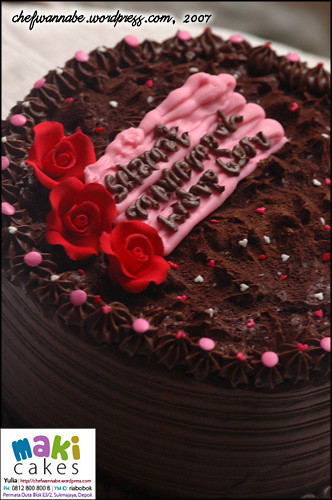 Chocolate Spongy Cake