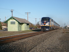 Amtrak Capitol Corridor (sharkzan) Tags: old abandoned buildings structures trains historic santaclara commuter passenger railroads stations railfanning depots f59phi cdtx2004