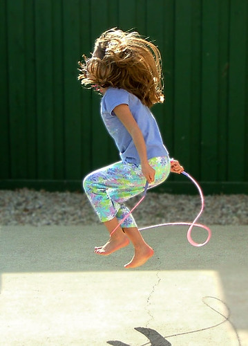 Photo- Jump Rope, Burn Calories (eosxti@flickr)