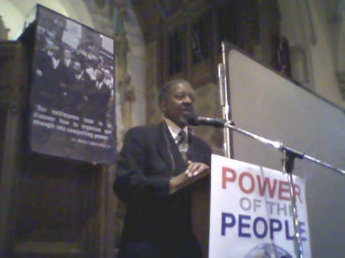 Rev. Dr. Lucius Walker of IFCO and Pastors for Peace was the keynote speaker at the Detroit Martin Luther King, Jr. Day events on Jan. 21, 2008. (Photo: Abayomi Azikiwe). by Pan-African News Wire File Photos
