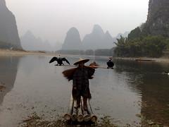 Li River Fisherman (Marcos Caceres) Tags: china 2008 xingping