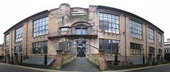 Glasgow School of Art panorama (McTumshie) Tags: autostitch glasgow glasgowschoolofart