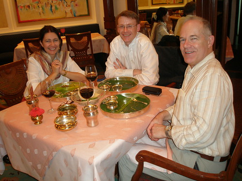 Dakshin Restaurant, Alejandra, Graham and Ray