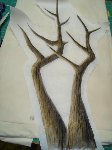 treesAcrylicOnFusible