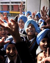 Sikh Schoolkids