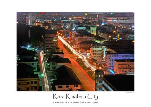 Kota Kinabalu City Poster